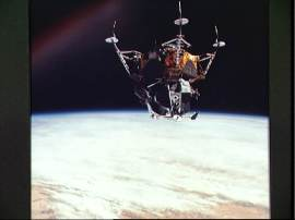 Test driving the lunar Lander in Earth orbit, Apollo 9, JSC Digital Image Collection