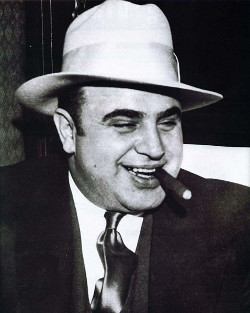 Al Capone, Mafia boss, has no statues in Connecticut.