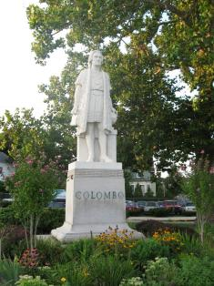 Columbus Monument, New Haven CT