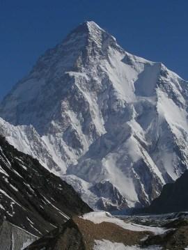 K2, Karakoram Range, India