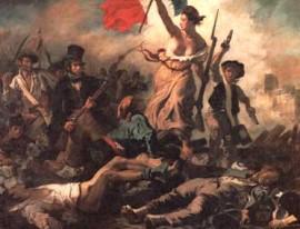 La Liberté guidant le peuple, Eugène Delacroix, 1830