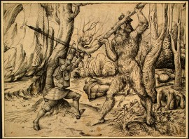 The Fight in the Forest, Hans Burgkmair, 1500 CE