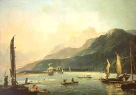 James Cook's 1773 Expedition to Tahiti