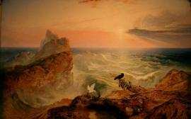 Assuaging the Waters, John Martin, 1840