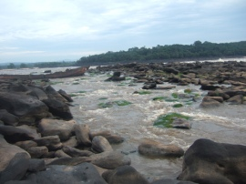 Cataract on the Congo River
