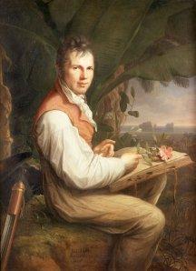 Alexander von Humboldt by Friedrich Georg Weitsch, 1806.
