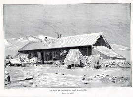 House at Fort Conger, Ellesmere Island, 1881. Photo credit: NOAA