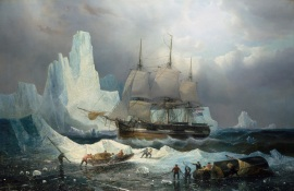 HMS-Erebus-in-the-Ice-1846-François-Étienne-Musin-©-National-Maritime-Museum-Greenwich-London-Caird-Collection-BHC3325